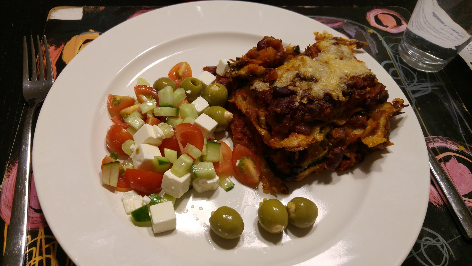 græskar lasagne
