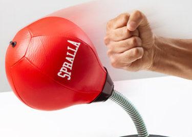 boksebold til skrivebordet